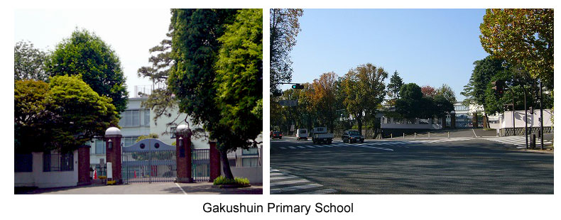 Crown Princess Aiko attends Gakushuin Primary School