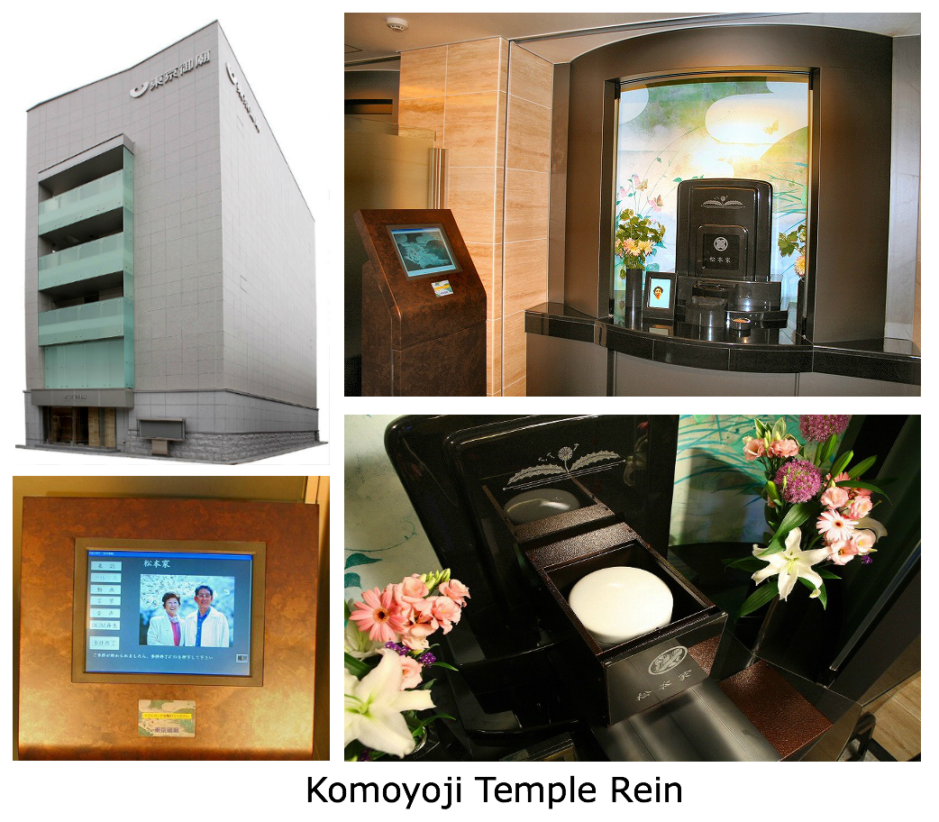 Computer Controlled Automatic Cremation Urn Transfer System Komyoji temple rein in Japan