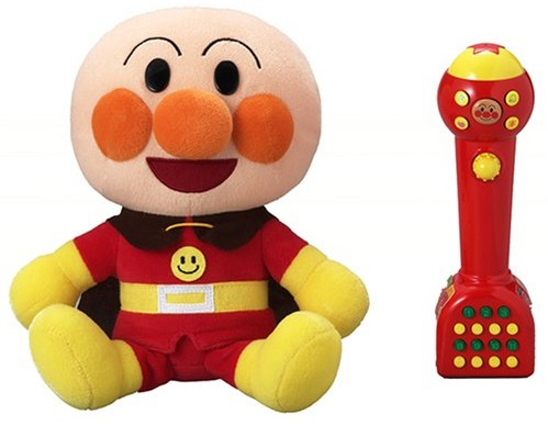 Anpanman sings karaoke with kids in Japan