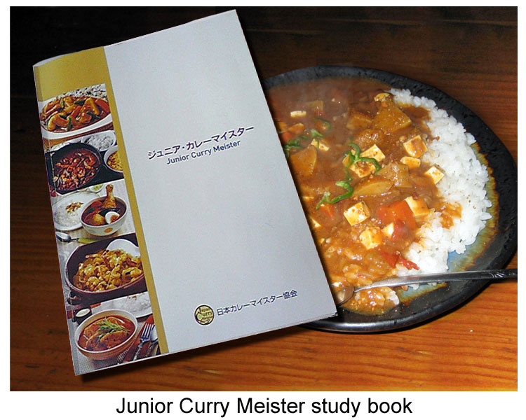 Curry meister study book Japan