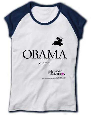 Obama town in Japan Barack tee shirt