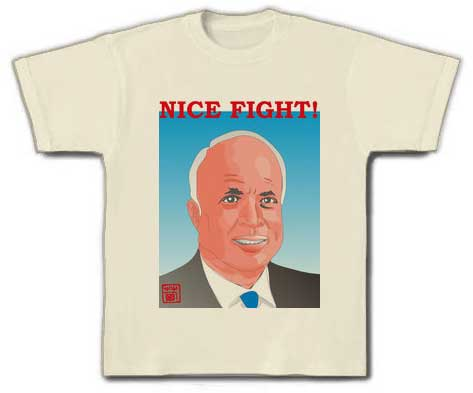 McCain tee shirt in Japan