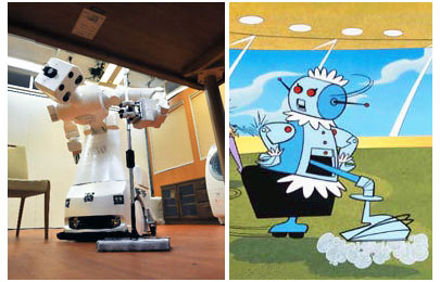 Rosie and Assistant robot in Japan