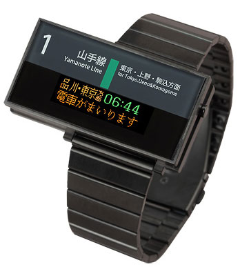 Seahope Yamanote line train watch inJapan